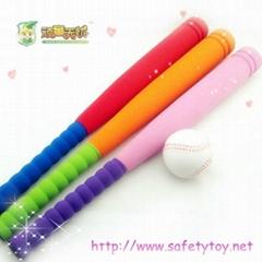 Rubber mini Baseball bat