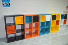 书柜,六格柜,板式家具