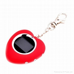 Promotional heartshape digital photo frame keychain manufactures & suppliers