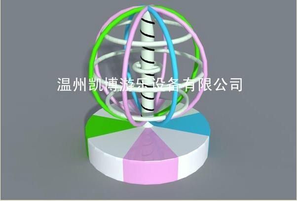 淘氣堡旋轉地球儀 1