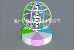 淘氣堡旋轉地球儀