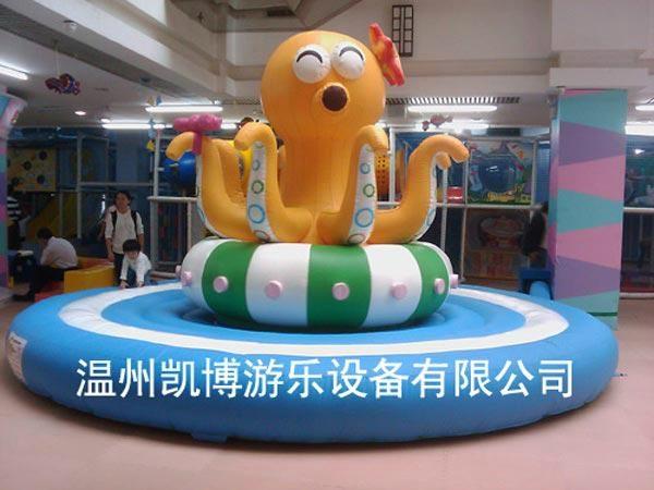 電動淘氣堡電動章魚 1