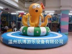 電動淘氣堡電動章魚