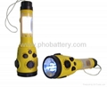 Dynamo LED Flash Light with Weather Radio Can connect with car charger jack 1