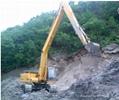 挖掘机清淤18米加长臂