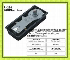 Floor hinge/Floor springs