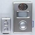 PIR motion alarm with video recorder and