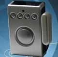 solar door and window magnet alarm