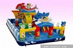 大型充气城堡蹦蹦床玩具