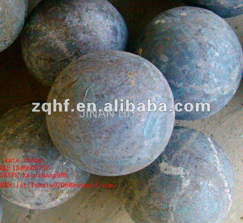 HIGH CHROME STEEL GRINDING BALL 1