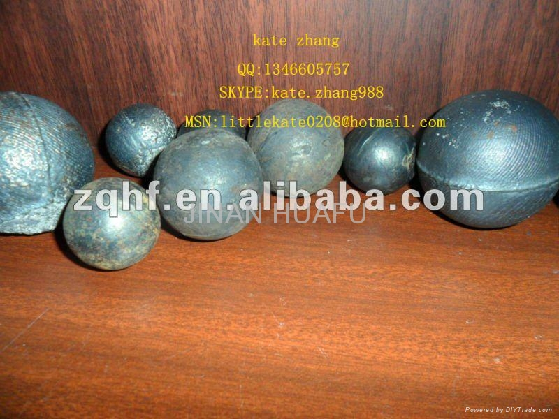 HIGH CHROME STEEL GRINDING BALL 2