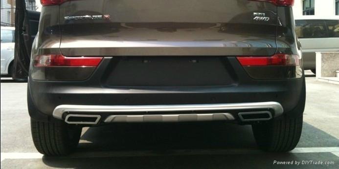 auto parts front and rear bumper board for KIA Sportage R ...