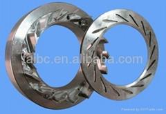 Turbocharger HY55V nozzle ring