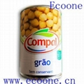 canned food -canned chickpeas