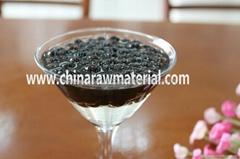 Black tapioca pearl for bubble tea bubble milk tea boba tea
