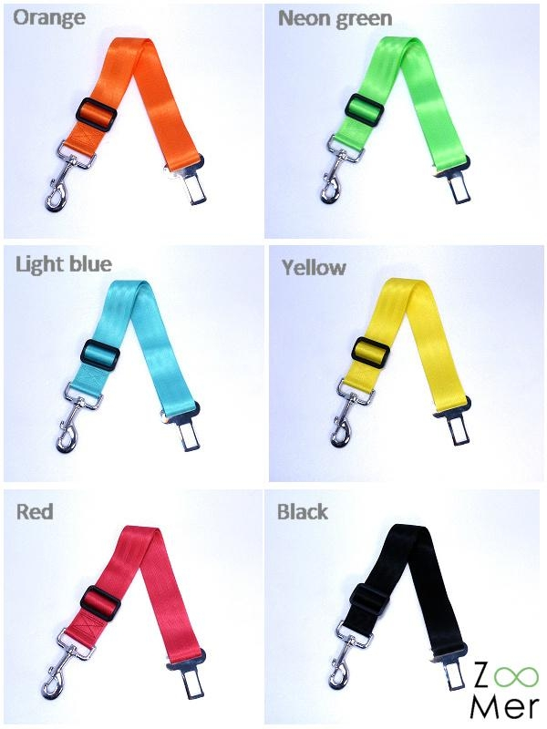 Car Safety Seat Belt Leash for Dogs 2