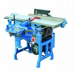 Multi-use woodworking machine with sawing planing thicknesser router mortiser