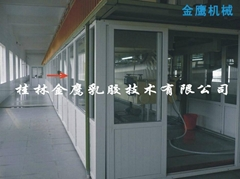 rubber condom production line