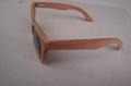 實木框架眼鏡 2