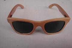 實木框架眼鏡