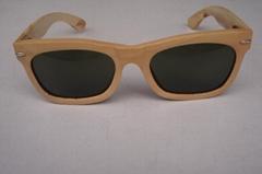 木製框架眼鏡
