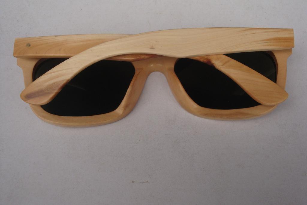 木製框架眼鏡 3