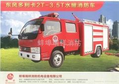 東風多利卡2T-3.5T水罐消防車