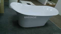 resin stone bath