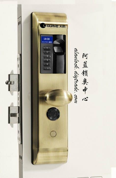 『非凡』指紋密碼感應電子鎖 1