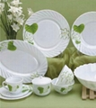 Glass dinnerware, ceramic dinnerware inspection