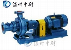 XWJ型臥式無堵塞紙漿泵