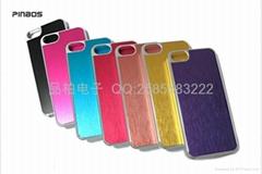 iphone5手机壳金属拉丝