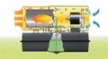 20kw柴油直燃暖风机B70,热风炮,柴油热风机 3