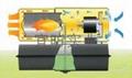 29kw柴油直燃暖风机B100,工业柴油热风机,热风炮 3
