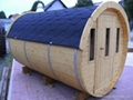 6persons New-designed barrel Sauna room