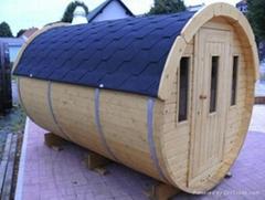 6persons New-designed barrel Sauna room