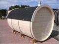 6persons New-designed barrel Sauna room  2