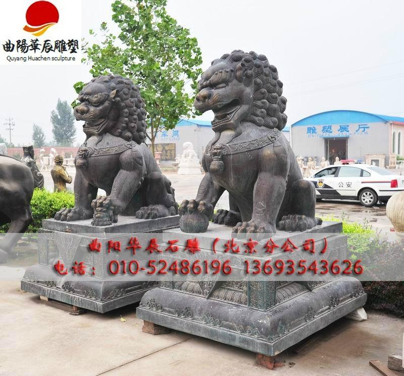 雕塑石雕狮子 2