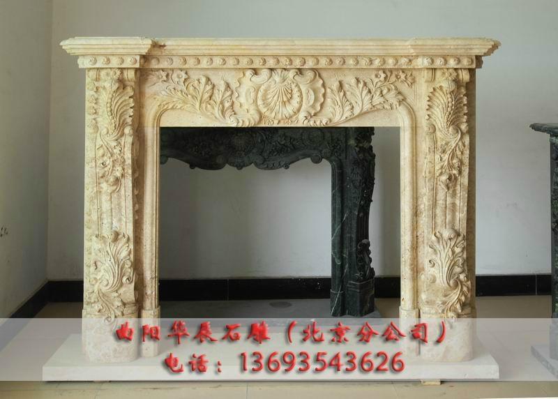 北京石雕壁炉 4