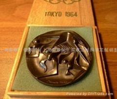 上海卓尼斯純銀 紀念章定製