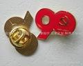 Shanghai Zhnis school badge, emblem, flag custom; custom Lapel Pin Badge making 3