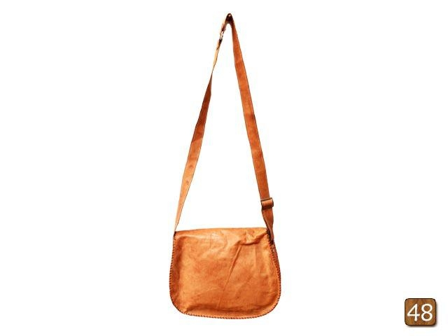 Barmer leather bag with aari work  4