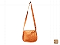 Barmer leather bag with aari work  4