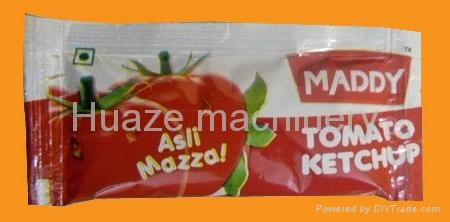 Tomato Sauce and Ketchup Pouch Kethup Packaging Machine 4