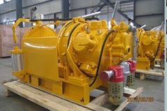 5 Ton Long Drum Air Winch