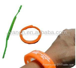 RFID wristband Tag for tourist Special personnel management 2