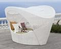 Artie Garden Outdoor Pe Rattan Sun Lounge Cocoon Lounge