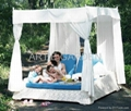 ARTIE GARDEN outdoor PE wicker cabana