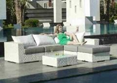 ARTIE GARDEN outdoor rattan sofa set
