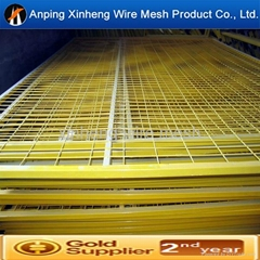 pvc coated welded wire mesh fence panel with certification
